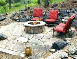 patio gas fire pits pit outdoor traditional insert kits conversation sets with ga