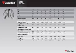 Dainese Full Suit Size Chart Best Picture Of Chart