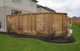 New Trend Fencing Fencing Company In Kitchener ON Cool Backyard Fence Designs