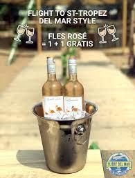 Flight 90 Opwijk - Douliou douliou Saint-Tropez 🍷 Koop 1 fles rosé, krijg  1 gratis 😍 Morgen zetten we Flight Del Mar volledig op z'n kop van 14u tot  22u 🙃 Zondag