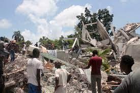 massive earthquake wreaks havoc in Haiti