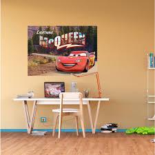 Lightning Mcqueen Bedroom Accessories Disney Cars Lightning Mcqueen Poster Xxl Great Kidsbedrooms The