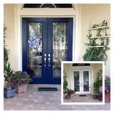 my blue front door