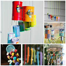 How To Make A Wind Chime Wind Chime Crafts For Kids Growing A Jeweled Rose