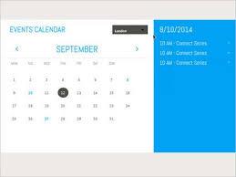 Calendar Templates For Websites 35 Free Calendar Html Templates Utemplates
