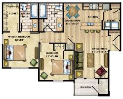 3 bedroom apartments plan. Cozy Inspiration Luxury 4 Bedroom Apartment Floor Plans 3 On Home Design Ideas. » Apartments Plan
