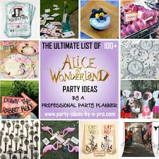 Alice In Wonderland Decoration 100 Alice In Wonderland Party Ideas By A Professional Party Planner