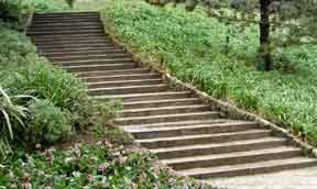 Small Picture Garden Steps Pathways In Landscape Garden Design