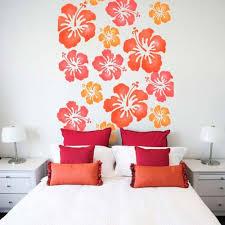 Bedroom Wall Stencil Ideas Simple Bedroom Stencil Ideas