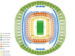 New Era Field Seating Chart Beyonce Best Seats At Mercedes Benz Superdome