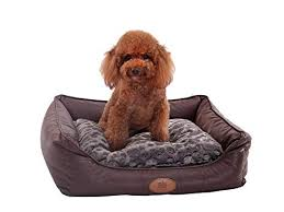 dog bed with removable cover. Fine With PLS Birdsong Brownie Bolster Pet Bed Small Dog Cat Removable Inside Bed With Cover