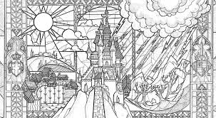 Beauty And The Beast Coloring Book Coloring Pages For Kids