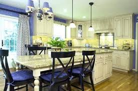 yellow country kitchens. Blue And Yellow Country Kitchen Kitchens In French Styles T