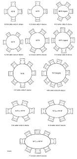round dining table for 8 size standard round table size dining table measurements 8 person round