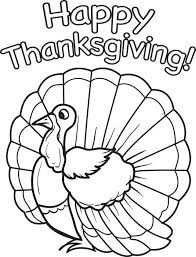 Free Printable Thanksgiving Turkey Coloring Page For Kids Coloring