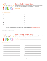 Baby Name Game Itu0027s Also A Baby Name Baby BoyBaby Name Games For Baby Shower