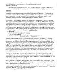 Day Care Philosophy Statement Examples Guitafora