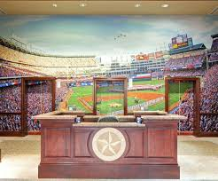custom print wallpaper wall murals the rangers lobby tells you they are in  baseball business wallpapers