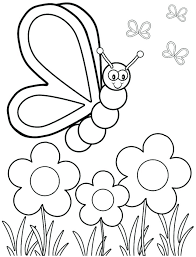 Spring Coloring Worksheets Spring Printable Coloring Pages Spring ...