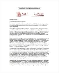 Sample Letter Of Recommendation 20 Free Documents
