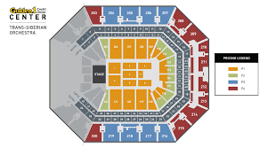Bonney Field Sacramento Seating Chart Trans Siberian Orchestra Golden1center