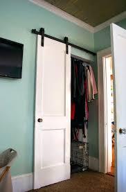 barn door closet doors home design ideas for