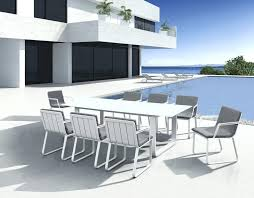 white metal outdoor furniture. Exellent Outdoor Metal Frame Patio Furniture Wonderful Modern Outdoor White  Aluminum Inside   With White Metal Outdoor Furniture U