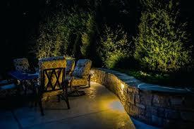 stone block retaining wall patio landscape lighting stone block retaining wall patio landscape lighting