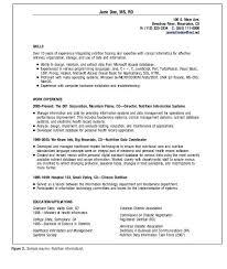 Dietitian Resume Template Best Of Resume Template Undergraduate Simple Dietitian Resume