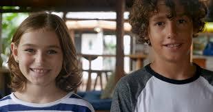 Teen boy and girl video