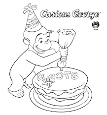 Small Picture Curious George Printables PBS KIDS