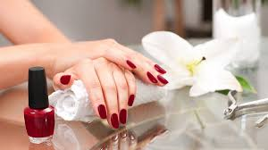 manicure concept beautiful woman s hands with perfect manicure