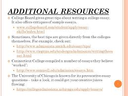 writing the college essay do s don ts what is the average % of  additional resources college board gives great tips about writing a college essay