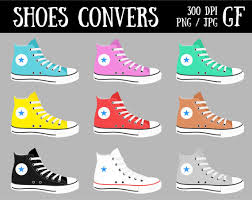 converse shoes clipart. converse shoes clipart sneakers digital clip art sports l