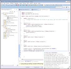 create and maintain application models example the following image shows a leanft junit test in eclipse that references the hpsite application model