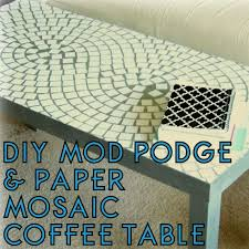 Mod Podge Kitchen Table Make Over Your Decor With This Cheap Mosaic Method The Decor Guru