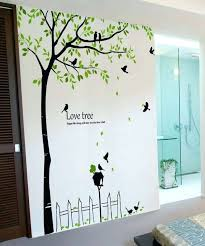 wall decor stickers birds tree wall decor stickers inspirational tall tree wall decals mailbox birds vinyl