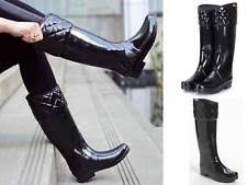Hunter Regent: Boots | eBay & Hunter Limited Edition Regent Rigley Black Top Quilt Band Riding Style Boots Adamdwight.com