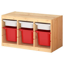 TROFAST Storage combination with boxes - IKEA, to use as a bench seat in the