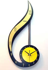 Small Picture yellow and black I love clocks Pinterest Unusual clocks Buy