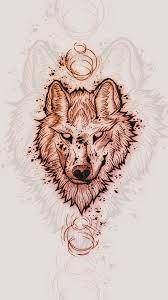 wolf #drawing #1080P #wallpaper ...