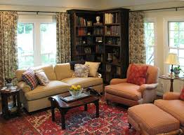 english cottage with french country furnishings traditional living room