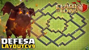 Layout Defesa Cv9 Atualizado Youtube