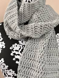 Double Crochet Scarf Patterns Interesting Easy Double Crochet Scarf Pattern MadameStitch