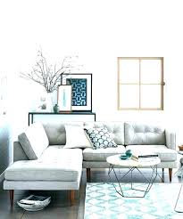 light grey couch with blue pillows sofa walls rug for gray living room ideas home improvement