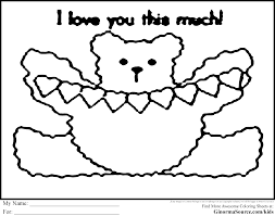 Love Colouring Pages To Print Printable Coloring Page For Kids