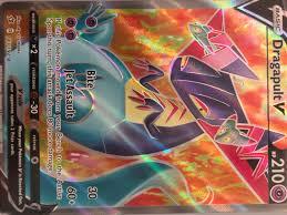 GIFT Dragapult V Full Art 183/192 Rebel Clash Pokemon TCG Online Digital  Card Pokémon Trading Card Game Pokémon Individual Cards
