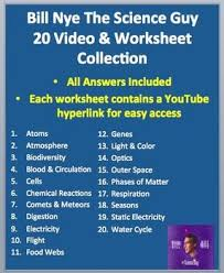 together with Bill Nye Water Cycle Video Worksheet by Mayberry in Montana   TpT furthermore Differentiated Video Worksheet  Quiz   Ans  for Bill Nye also Bill Nye Video Worksheets    plete 20 Video Worksheet Collection moreover Bill Nye Video Questions   FOOD WEB   w  time st   word bank together with  further Video Guide Word Banks  Answer Sheets and Quizzes besides for Bill Nye   Water Cycle   Video Differentiated Worksheet furthermore 24 Bill Nye Motion Worksheet  Bill Nye  Heat Energy And Worksheets as well  together with . on nye s e water cycle video sheet with answer bill the science guy worksheet answers