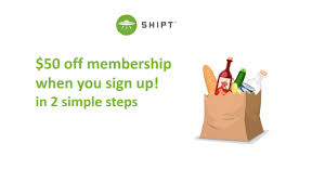 shipt promo code for 50 off on membership