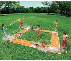 outdoor water games for kids. Garden Water Slide Outdoor Beach Baseball Play Game Toy Summer Kids Pool #Banzai Games For U